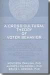 A cross-cultural theory of voter behavior. 9780789027368
