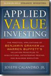 Applied value investing. 9780071628181