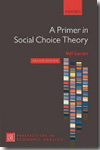A primer in social choice theory. 9780199565306