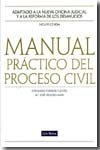 Manual práctico del proceso civil