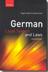 German legal system and Laws. 9780199233434