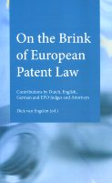 On the brink of european patent Law. 9789490947309