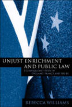 Unjust enrichment and public Law. 9781841134147