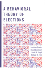 A behavioral theory of elections. 9780691135076