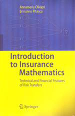 Intoduction to insurance mathematics. 9783642160288