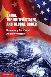 China, The United States, and global order. 9780521725194