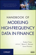 Handbook of modeling high-frequency data in finance. 9780470876886