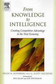 From knowledge to intelligence. 9780750677622