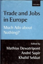 Trade and jobs in Europe.. 9780198293606