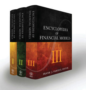 Encyclopedia of financial models. 9781118006733