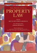 Cases, materials andtext on Property Law