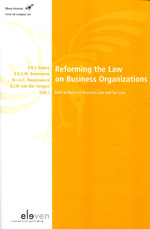 Reforming the Law on business organizations. 9789490947286