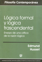 Lógica formal y lógica trascendental. 9786070204395
