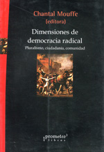 Dimensiones de democracia radical. 9789875745551