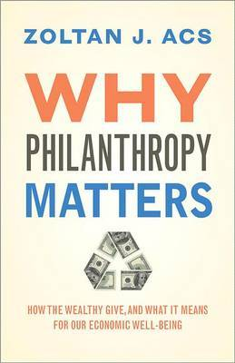 Why philanthropy matters. 9780691148625