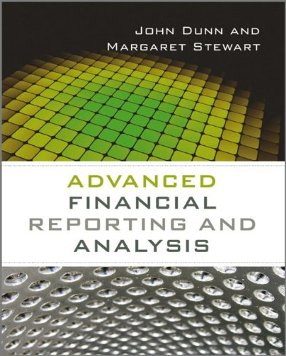 Advanced financial reporting and analysis. 9780470973608