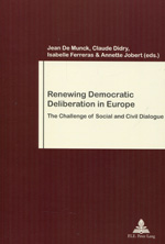 Renewing democratic deliberation in Europe. 9789052018751