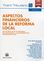 Aspectos financieros de la reforma local. 9788490538616