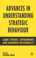 Advances in understanding strategic behaviour. 9781403941671