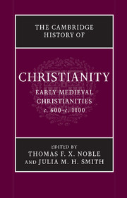 The Cambridge History of Christianity. 9781107423640