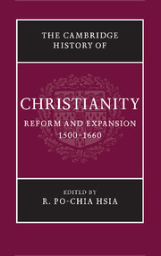 The Cambridge History of Christianity. 9781107423688