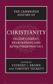 The Cambridge History of Christianity. 9781107423695