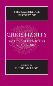 The Cambridge History of Christianity. 9781107423749