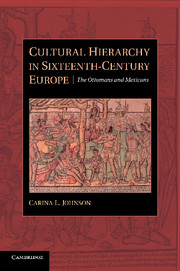 Cultural hierarchy in Sixteenth-Century Europe. 9781107638983