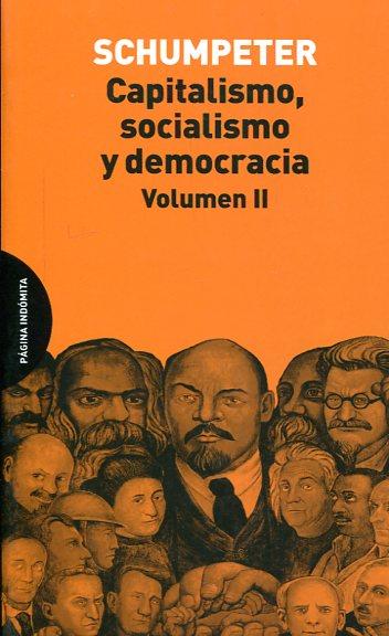 Libro Capitalismo Socialismo Y Democracia 9788494366444 Schumpeter Joseph A 1883 1950 Marcial Pons Librero