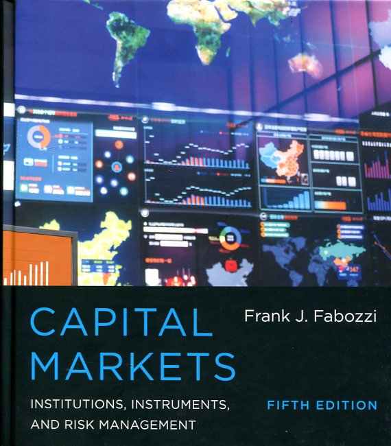 Capital markets. 9780262029483