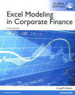 Excel modeling in corporate finance. 9781292059389