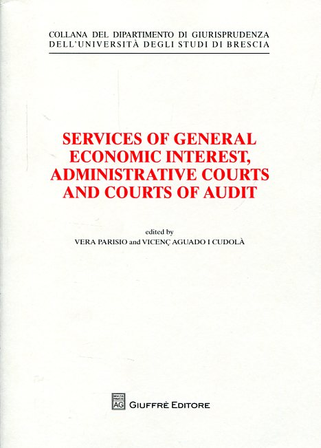 Services of general economic interest, administrative courts and courts of audit