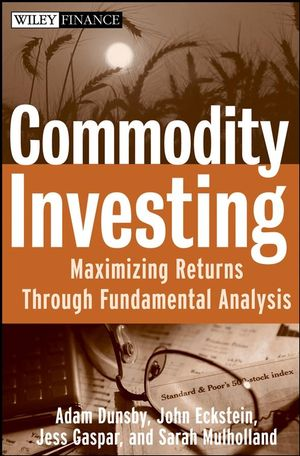 Commodities investing. 9780470223109