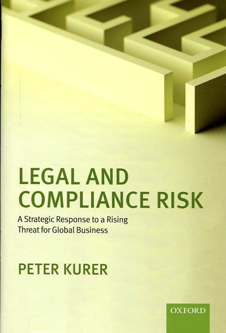 Legal and compliance risk. 9780198719793