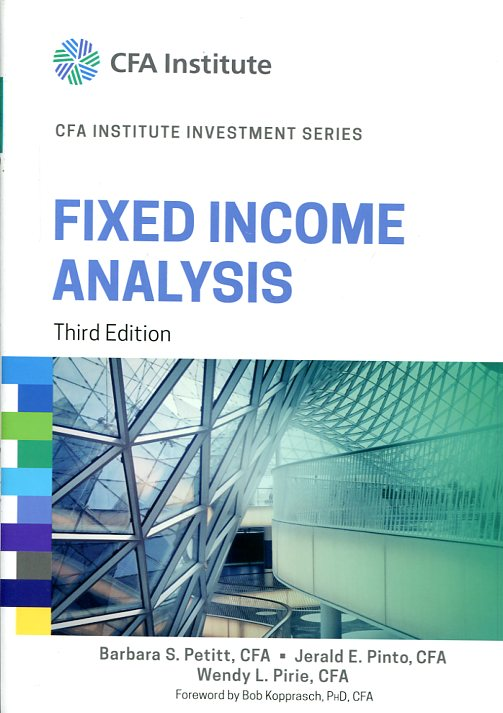 Fixed income analysis. 9781118999493