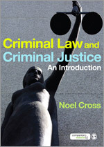Criminal Law and criminal justice. 9781847870872