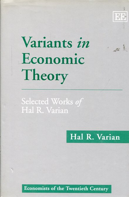 Variants in economic theory. 9781858983264