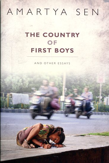The country of first boys. 9780198738183