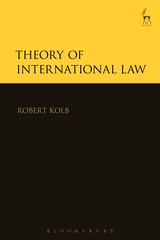 Theory of international law. 9781782258803