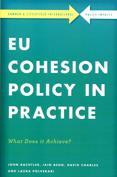 EU cohesion policy in practice. 9781783487226