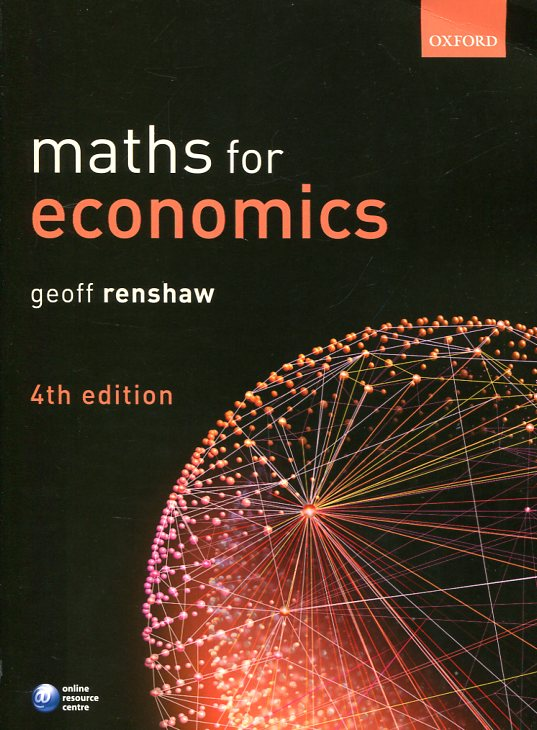 Maths for economics. 9780198704379