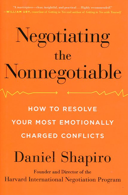 Negotiating the nonnegotiable. 9780670015566