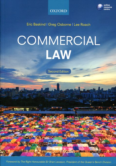 Commercial Law. 9780198729358