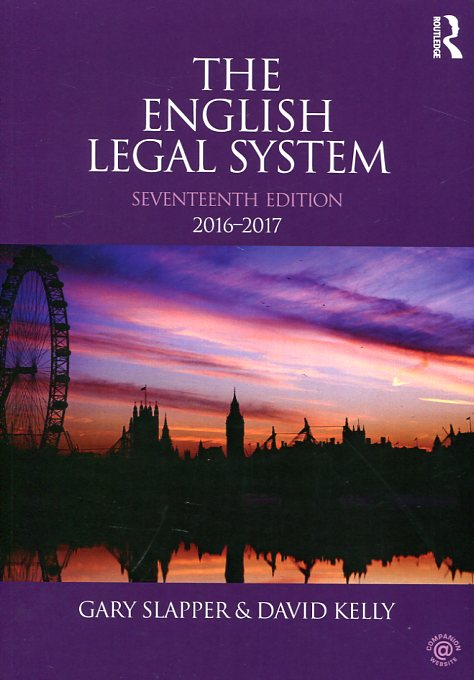The english legal system 2016-2017. 9781138944459