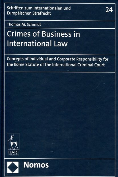 Crimes of business in international Law. 9781509906901