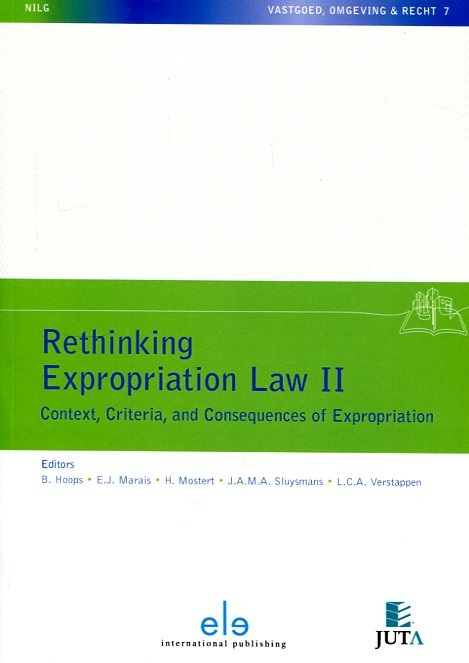 Rethinking expropriation Law II. 9789462366329