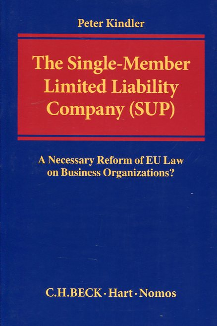 Single-member Limited Liability Company (SUP) . 9781509907199