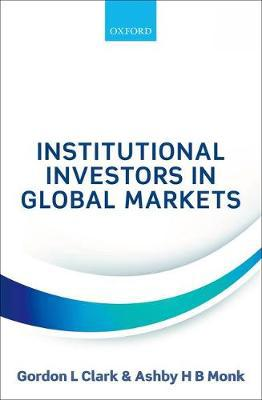 Institutional investors in global markets. 9780198793212