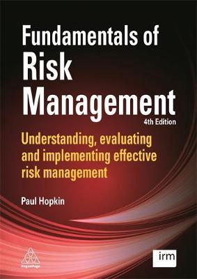 Fundamentals of risk management . 9780749479619