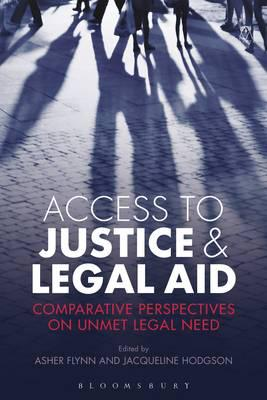 Access to justice and legal Aid. 9781509900848